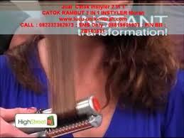 Catokan Rambut Sosis jual catok instyler 2 in 1 catok rambut instyler 2in1 murah
