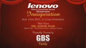 Launch Invitation Card Sample Lenovo Digital Invitation Phoenix Market City Gbs Youtube