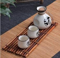 saké de cuisine 250ml vintage ceramic sake pot with 2 cups set japanese cuisine sake