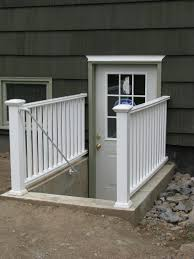 design amazing outside basement entrance cover basement and