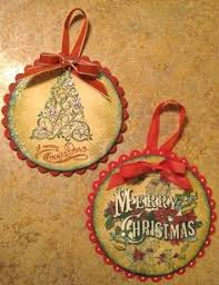 you don t need a craft stash to create chipboard ornaments all you