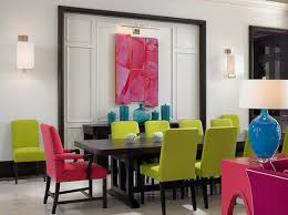 Modern Dining Room Colors Modern Interior Design Trend Influenced By Color Block Style In