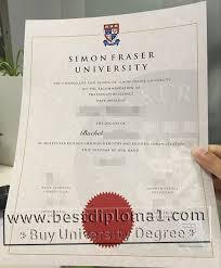sfu diploma certificate template buy fake sfu degree buy