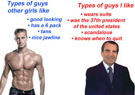 types of guys other girls like types of guys i like memes