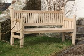 westminster hardwood bench the wooden workshop oakford devon