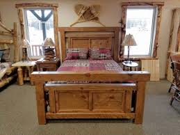 Timber Frame Bed Timber Frame Bed Ez Mountain Rustic Furniture