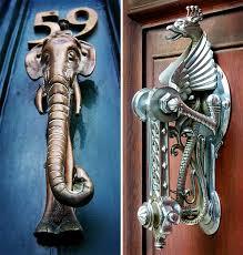 decorative door knockers 25 creative door knockers doors and architecture