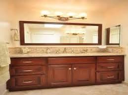 Above Mirror Vanity Lighting Bathroom Mirrors Mirror Above Vanity Light Height Light Above