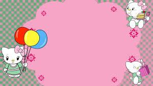 Hello Kitty Birthday Invitation Card Hello Kitty Birthday Card Image By Spongefox On Deviantart