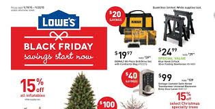 lowe s black friday savings 2015 lowe s releases pre black friday