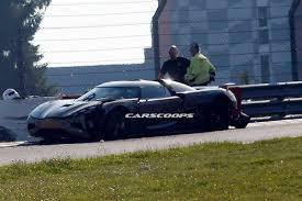 koenigsegg one 1 crash koenigsegg agera r prototype crashes on the nurburgring gtspirit