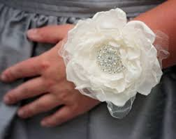 How To Make A Corsage Wristlet Prom Wrist Corsage Etsy