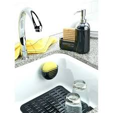 extra large sink mat extra large sink protector kitchen sink mats with drain hole and