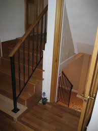 Wood Interior Handrails Colonial Iron Works Iron Interior Handrails