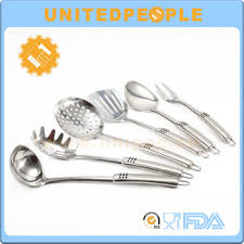 Kitchen Cooking Utensils Names by Names Of 6pcs Stainless Steel Utensils Cooking Kitchen Tools Set