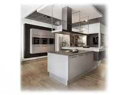 grand ilot de cuisine cuisine blanche avec grand ilot plan sur mesure qualité neha