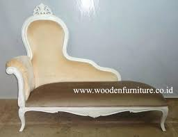 White Chaise Lounge Chaise Solid Wood Frame Throne Sofa Classical Sectional French