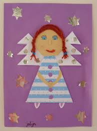 angel christmas art project for kids christmas arts and crafts
