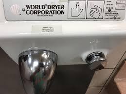 Hand Dryer Meme - this sticker on the hand dryer meme guy