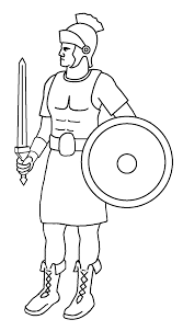 roman soldier coloring page kids coloring europe travel guides com