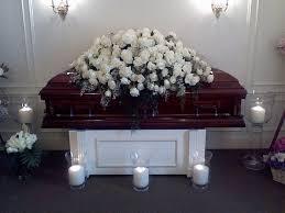 casket spray white casket spray in los angeles ca designs by david