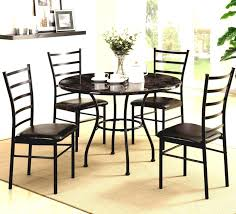 how to make a granite table top dining room dazzling contemporary dinette sets with round black