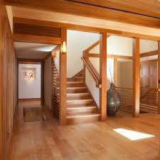 not so big house sarah susanka home staircase raleigh with stone