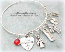 goddaughter charm bracelet communion charm bracelet goddaughter gift personalized