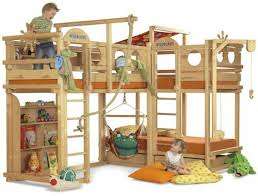 Best Cool Bunk Bed Images On Pinterest Children Bed Ideas - Treehouse bunk beds