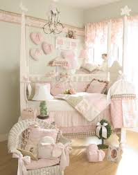 classy soft pink and grey bedroom idea for baby girls inspiring