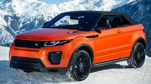 land rover red range rover evoque convertible 2 0d hse dynamic lux 2016 review