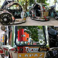 jeepney drawing nice tricycle from laoag city onlyinthephilippines jeepney