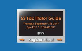 5s facilitator guide webinar visual workplace inc