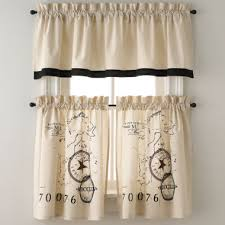 Jcpenney Bathroom Curtains Park B Smith World Rod Pocket Kitchen Curtains Found At Jcpenney