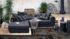 canapé d angle haut de gamme canapé d angle en tissu cuir design contemporain côté maison
