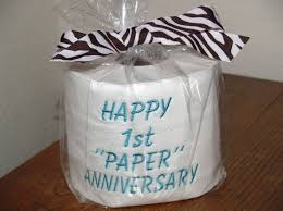 wedding gift jokes 29 best paper anniversary gifts images on paper