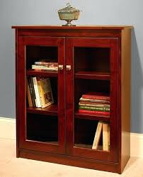 Oak Bookcases With Glass Doors 30 Wide Bookcase Candler Bookcase Length Glass Doors Wide 30
