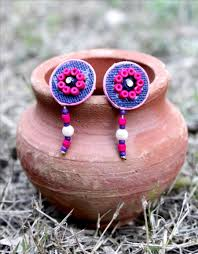 jute earrings buy exclusive jute earrings at best price 526951