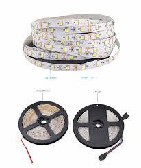 Led Strip Lights Remote Control by 2835 3528 Smd Dc 12v 5m Ip65 Ip20 No Waterproof Rgb Led Strip