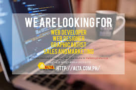 Home Based Web Designer Jobs Philippines by Now Hiring Job Hiring Pinoyjobs Ph