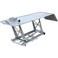 motorcycle lift table plans roughneck motorcycle lift 1 000 lb capacity northern tool