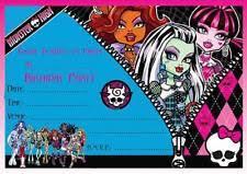 monster high birthday child greeting cards u0026 invitations ebay