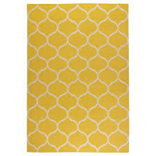 Yellow Round Area Rugs Stockholm Rug Flatwoven Ikea