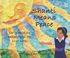 Home Design Story Coins Shanti Means Peace The Story Of The Fellowship Of The Least Coin
