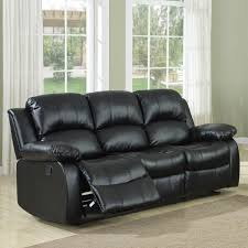 Blue Leather Sectional Sofa Wonderful Sectional Sofas With Recliners For Small Spaces 89 About