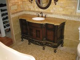 Granite For Bathroom Vanity Rustic Bathroom Vanities With Tops Brown Granite Single White