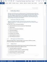 project plan template word tempss co lab co
