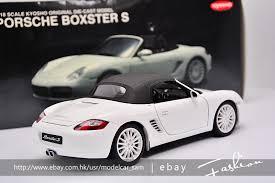 porsche boxsters kyosho 1 18 porsche boxster s rs60 white ebay