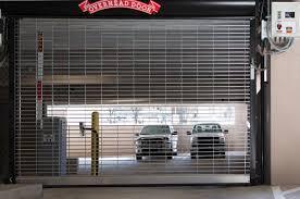 Security Overhead Door Security Grilles