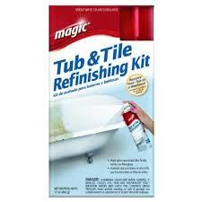 Rustoleum Bathtub Refinishing Paint 17 Oz Bath Tub And Tile Refinishing Kit Spray On Epoxy In White